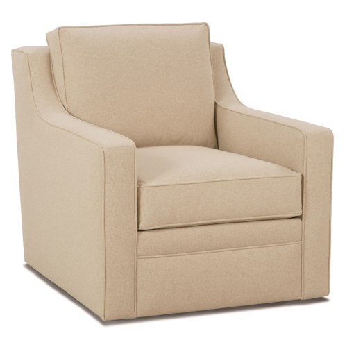 Rowe Fuller Transitional Swivel Chair