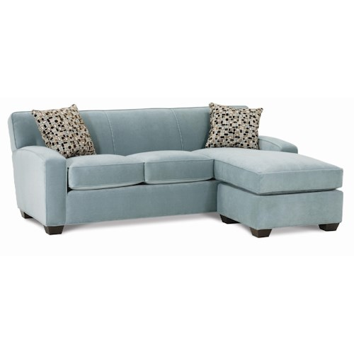 Rowe Horizon Stationary Sectional Sofa with Chaise
