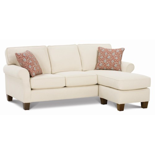 Rowe Kimball  Casual Sofa Sectional with Chaise