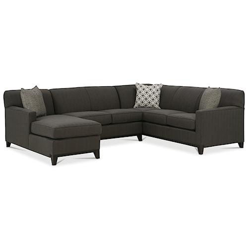 Rowe Martin 3-Piece Sectional Sofa