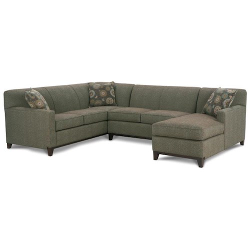 Rowe Martin 3-Piece Sectional Sofa
