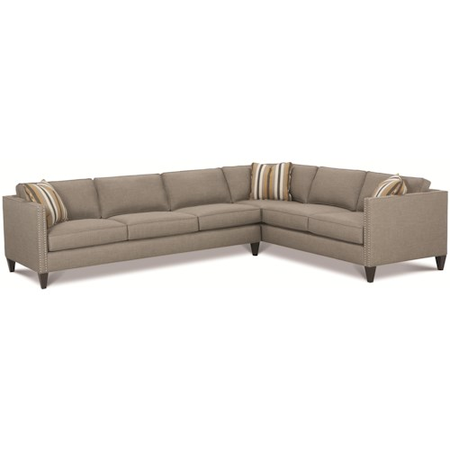 Rowe Mitchell - RXO <b>Customizable</b> Contemporary Sectional Sofa