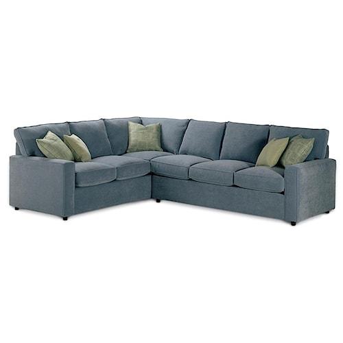 Rowe Monaco Corner Sectional Sofa