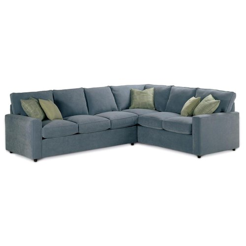 Rowe Monaco Corner Sectional Sofa