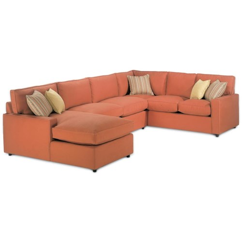 Rowe Monaco Modular Sectional Sofa