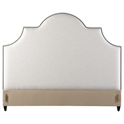 Rowe My Style - Beds Sedgefield 70'' Queen Upholstered Headboard