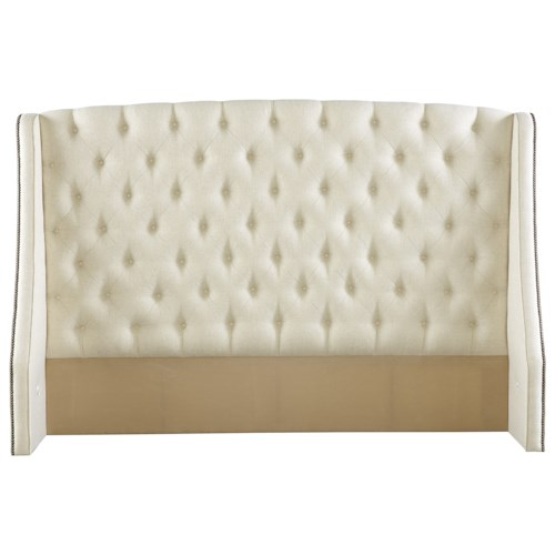 Rowe My Style - Beds Kirkwood 54'' Queen Headboard with Tufting