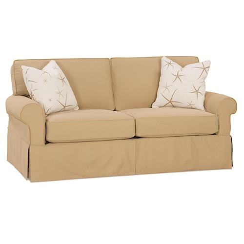 Rowe Nantucket  Transitional 2-Seat Sofa