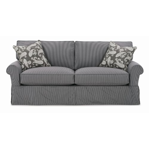 Rowe Nantucket  2-Seat Queen Slipcover Sofa Sleeper