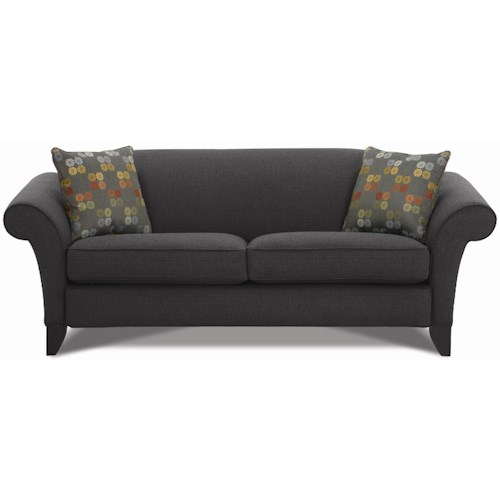 Rowe Notting Hill Transitional Two Seat Sofa
