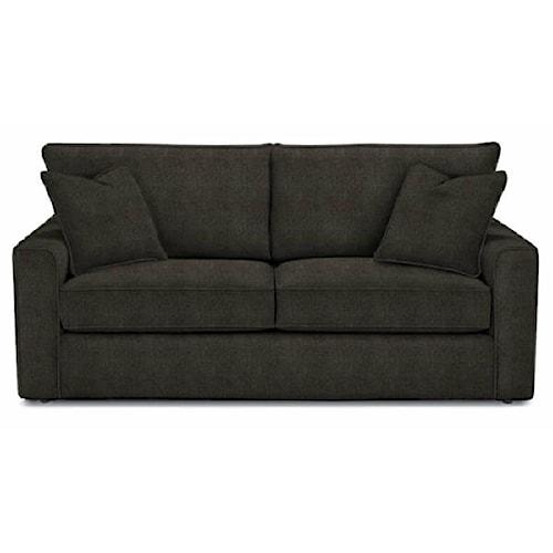 Rowe Pesci Contemporary Style Queen Size Sofa Sleeper