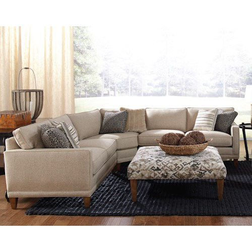 Rowe Townsend Contemporary 3 Piece Sectional Sofa