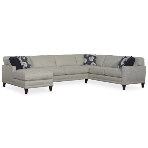 Rowe Townsend Casual Sofa Sectional Group