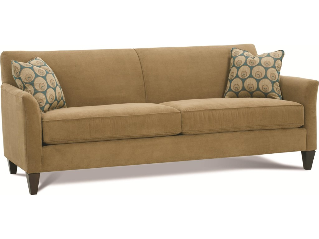 Shown with 2/2 Cushion and Tapered Block Legs
