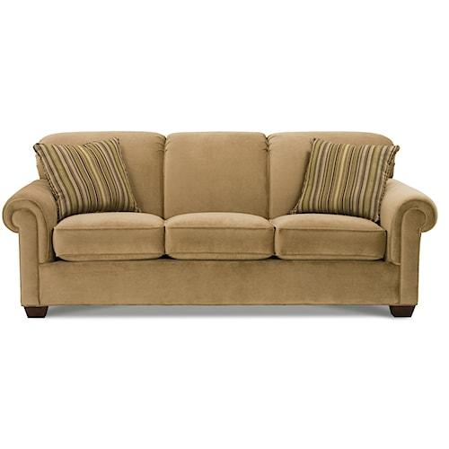 Rowe Woodrow Three Over Three Sofa
