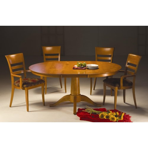 Saloom New England 5 Piece Chelsea Table and Chair Set