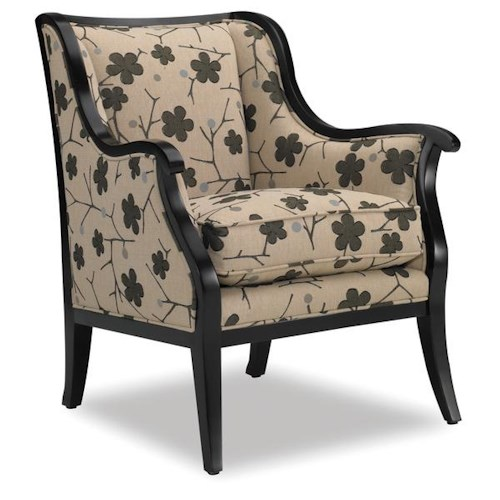 Sam Moore Cadence Cadence Contemporary Exposed Wood Chair