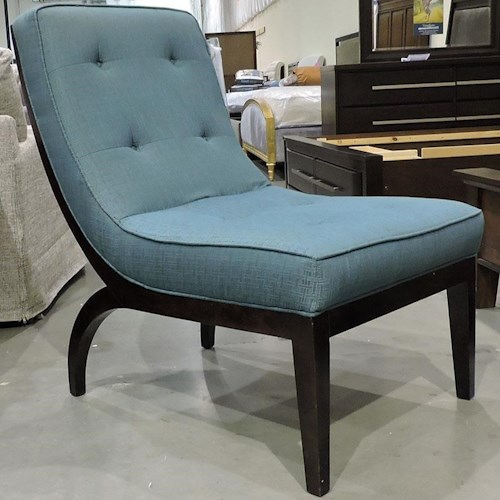 Sam Moore Clearance Upholstered Armless Chair