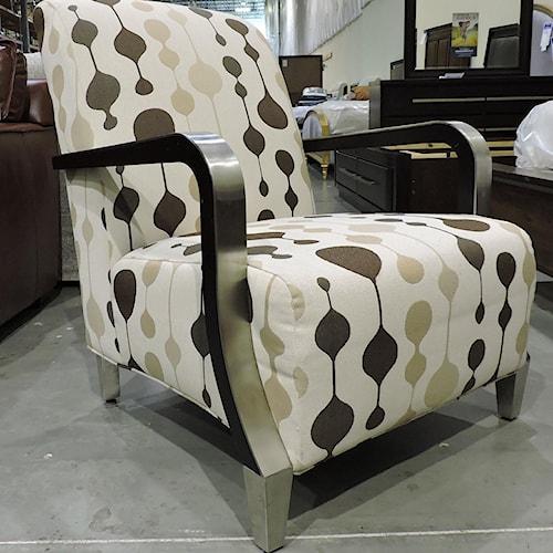 Sam Moore Clearance Metal Trim Chair