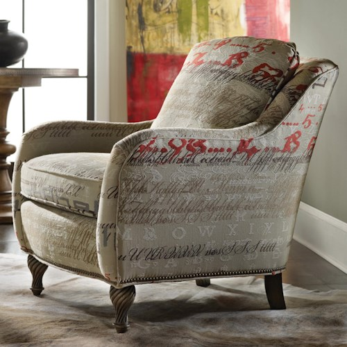 Sam Moore Benson Upholstered Accent Chair