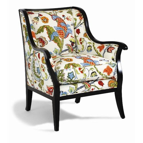 Sam Moore Cadence Contemporary Exposed Wood Chair