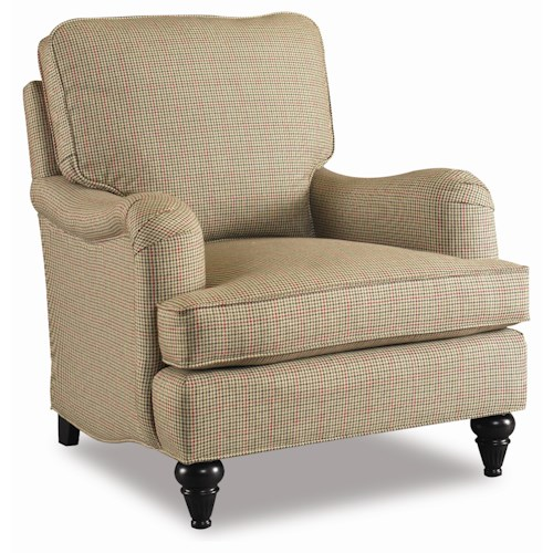Sam Moore Claremont  Upholstered Club Chair