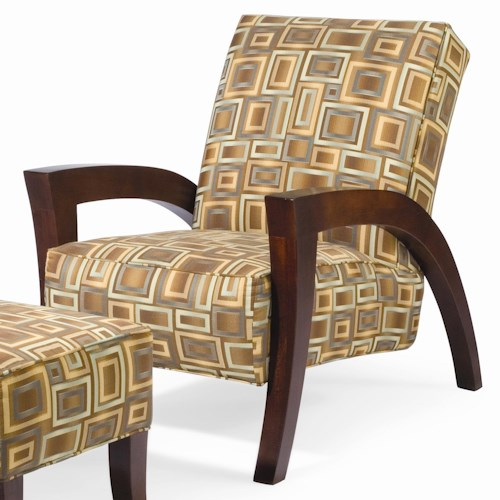 Sam Moore Grasshopper Contemporary Upholstered Chair