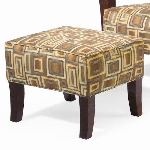 Sam Moore Grasshopper Contemporary Ottoman