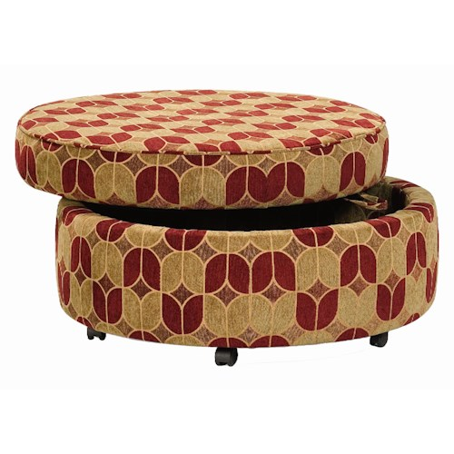 Sam Moore Holland Storage Bench Ottoman with Convenient Lift Handle