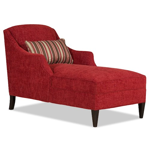 Sam Moore Lark Transitional Chaise