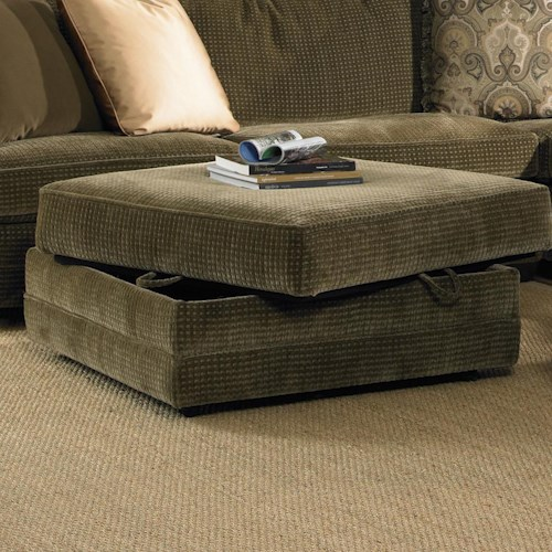 Sam Moore Maddox Transitional Storage Cocktail Ottoman