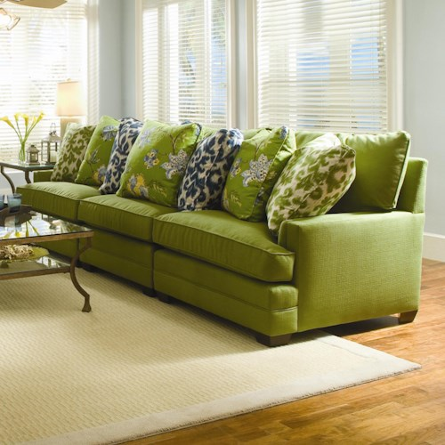 Sam Moore Margo Extra Wide Sectional Sofa