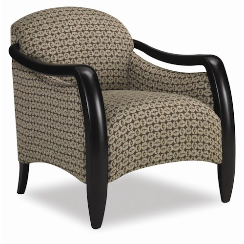 Sam Moore Picasso Sleek Contemporary Chair