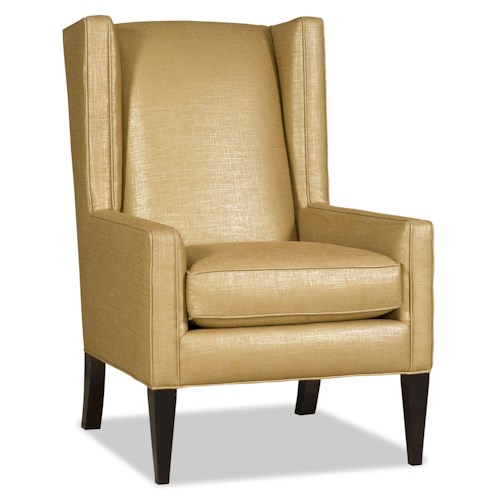 Sam Moore Simone Contemporary Wing Chair