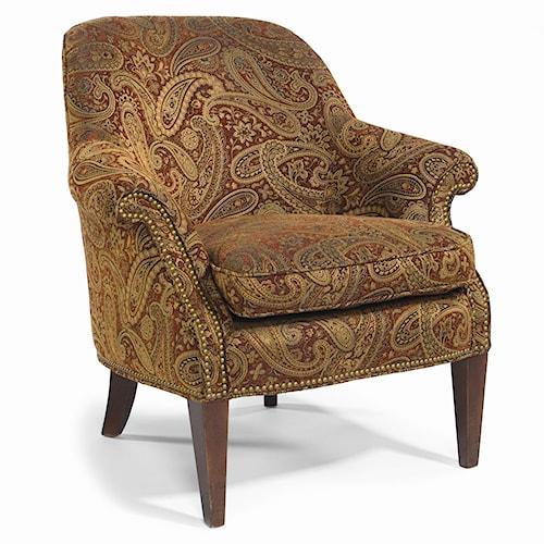 Sam Moore Staffordshire Traditional Wood Leg Chair