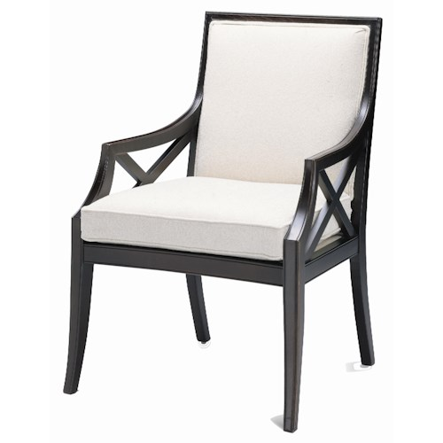 Sam Moore Xavier Contemporary Exposed Wood Chair