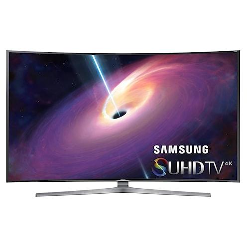 Samsung Electronics Samsung LED TVs 2015 4K SUHD JS9100 Series Curved Smart TV - 78