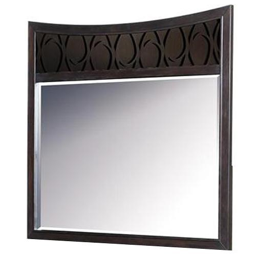 Samuel Lawrence Aura Mirror with Oval Designs