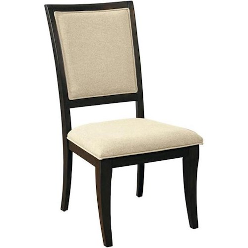 Samuel Lawrence Aura Dining Side Chair with Oval Motif