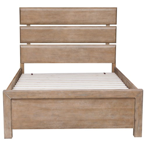 Samuel Lawrence Austin Rustic Full Plank Bed Wayside Furniture Panel Beds