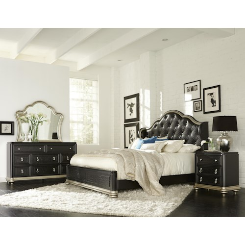 Samuel Lawrence Avanti King Bedroom Group