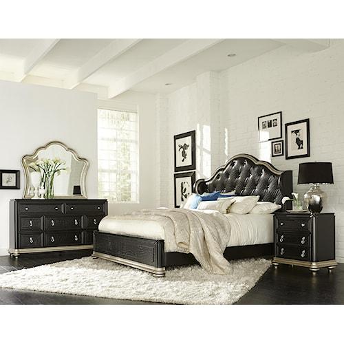 Samuel Lawrence Avanti Cal King Bedroom Group