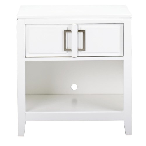 Samuel Lawrence Brighton Contemporary Nightstand w/ Drawer