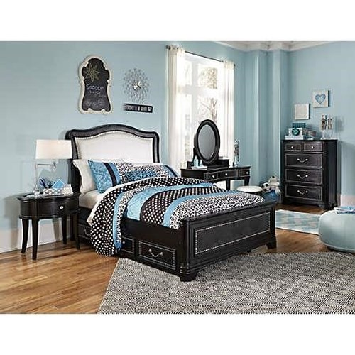 Morris Home Furnishings Castella -  Full Panel Bed *Trundle Sold Separately