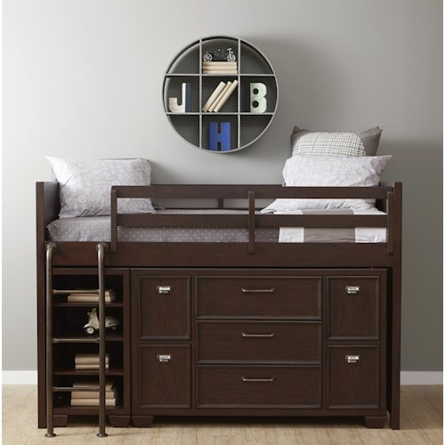 Samuel Lawrence Clubhouse Twin Loft Storage Bed