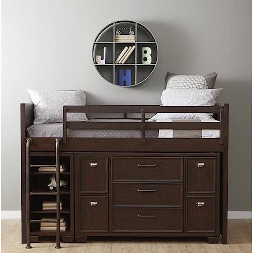 Kidz Gear Mason Twin Loft Storage Bed
