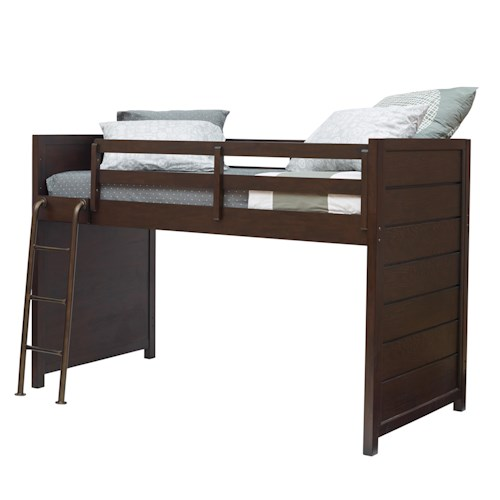 Kidz Gear Mason Casual Lofted Bed