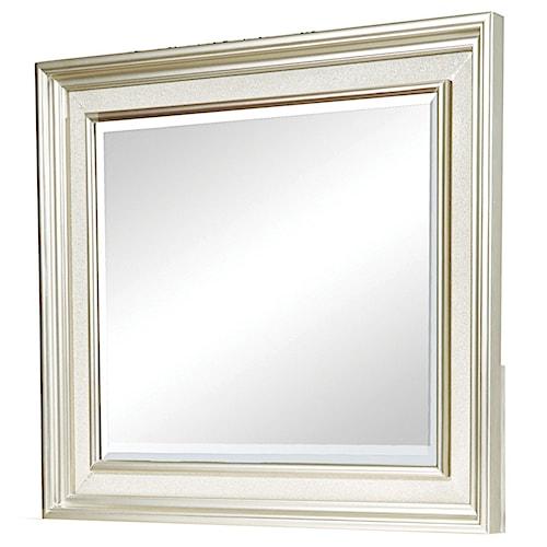 Morris Home Furnishings South Beach Platinum Landscape Mirror