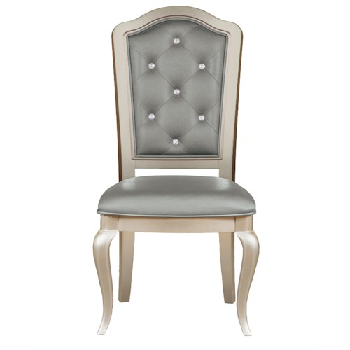 Morris Home Furnishings South Beach Tufted Side Chair