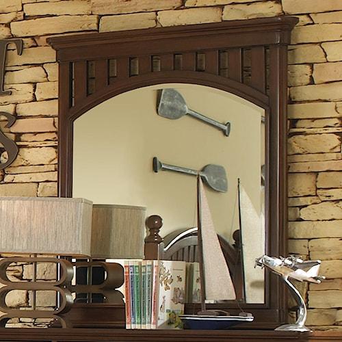 Morris Home Furnishings Edgewood Landscape Mirror